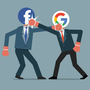 Thumb google vs facebook