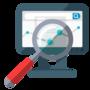 Thumb digital audit icon