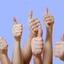 Thumb thumbsup for law