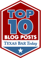 Texas Bar Today Top 10 Blog Posts