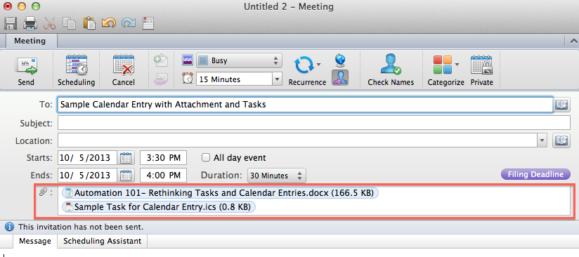 Automation 101: Rethinking Tasks and Calendar Entries | Stacey E ...